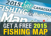 Free Canadian Fishing Map